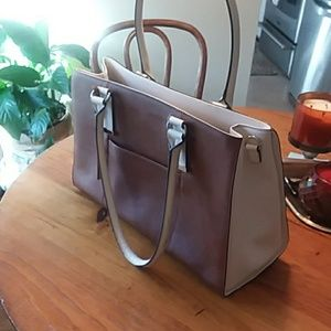 Large leather tote 16.5 x 10.5